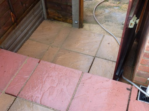 Patio cleaning Acton London W3 -after